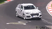 Possible Audi SQ7 captured on the Nürburgring