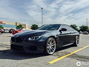 Spotted: BMW M6 F13 on HRE Performance Wheels