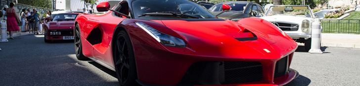Владелец показал свою коллекцию Ferrari в Монако