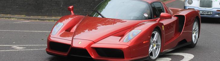Dem Enzo Ferrari steht einfach jede Farbe!