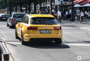 Audi RS6 Avant looks great in this yellow colour!