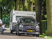 Mercedes-Benz GL 63 AMG with a caravan is a great combination