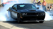 Dodge Challenger SRT Hellcat shows some American muscles!