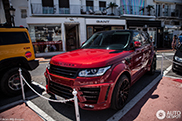 Brutal Range Rover Sport Lumma CLR RS spotted in Marbella