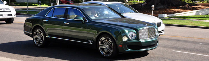 Topspot: Bentley Mulsanne Le Mans Limited Edition