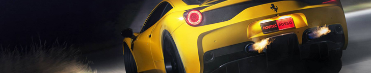 Novitec Rosso makes the Ferrari 458 Speciale even more spectacular