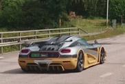 Topspot: derde Koenigsegg One:1 gespot!