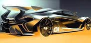 If this is the McLaren P1 GTR we really like it!