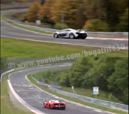 Movie: LaFerrari and P1 racing on the Nürburgring