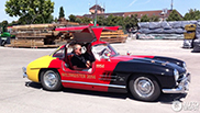 Mercedes-Benz 300SL Gullwing heeft Weltmeister 2014 trim