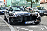 Kicherer gives the Mercedes-Benz SLS AMG a new look