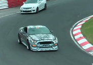 Movie: Ford Mustang GT350 SVT frightens at the Nürburgring