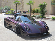 This is the incredible Pagani Zonda of Lewis Hamilton