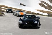 Fünf Porsche 918 Spyders stürmen den Großglockner
