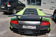 Groene Lamborghini Murciélago LP670-4 SV werkt verfrissend