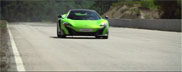 McLaren 675 LT shows its capabilities
