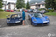 Rich Asians travel through Switzerland with their Zondas