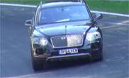 Bentley Bentayga started its last phase of testing