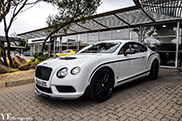 Bentley Continental GT3-R gespot in Zuid-Afrika
