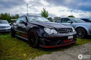 This CLK 63 AMG Black Series isn't really elegant