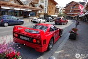Spotting a Ferrar F40 is the dream of every spotter