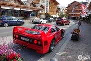 Einen Ferrari F40 zu spotten ist der Traum vieler Carspotter