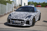Spotted: production body of the Jaguar F-TYPE SVR