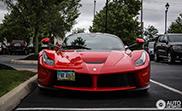 Ferrari LaFerrari fleurt Columbus op