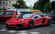Lamborghini Aventador LP750-4 SV shows up in Moscow