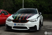 BMW M4 DTM Champion Edition has some beautiful details