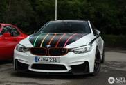 BMW M4 DTM Champion Edition heeft prachtige details