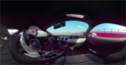 Movie: interactive driving with the Ford Mustang on Silverstone