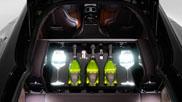 Altijd lekkere champagne bij je met deze Aston Martin Rapide S