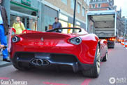 Ferrari Pininfarina Sergio duikt op in de straten van Londen