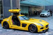 Gele SLS AMG Black Series oogt nog als nieuw