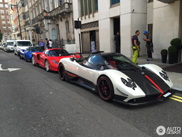 Hypercar trio gespot in London!
