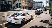 Lekkere foto's van de Porsche 911 R