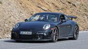 Spyshots: Porsche 991 GT3 MkII met handbak