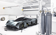 Hypercar door Aston Martin en Red Bull Racing: de AM-RB 001