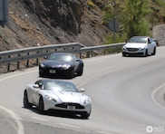 Aston Martin DB11 spotted in the last phase of testing