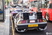 Back to the Future in Londen: DeLorean DMC-12