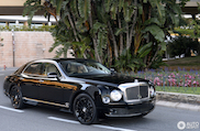 Heel uniek: Bentley Mulsanne Speed Blue Train
