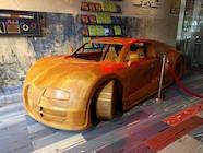 Indonesische Bugatti Veyron SuperSport in Amsterdam
