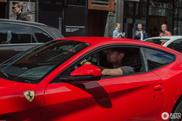 Afrojack gespot in zijn gloednieuwe Ferrari F12berlinetta