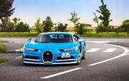 Filmpje: vier Bugatti Chirons cruisen door Los Angeles