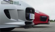 Filmpje: Jaguar F-TYPE R AWD tegen een Porsche 911 Turbo S
