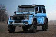 Mansory's vision on the G500 4x4