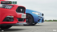 Movie: what can a Ford Mustang do versus a BMW M2