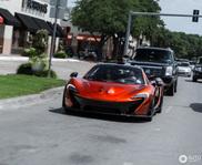 McLaren P1 in Volcano Orange blijft een pareltje