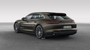 Rendering Porsche Panamera Shooting Brake makes us greedy